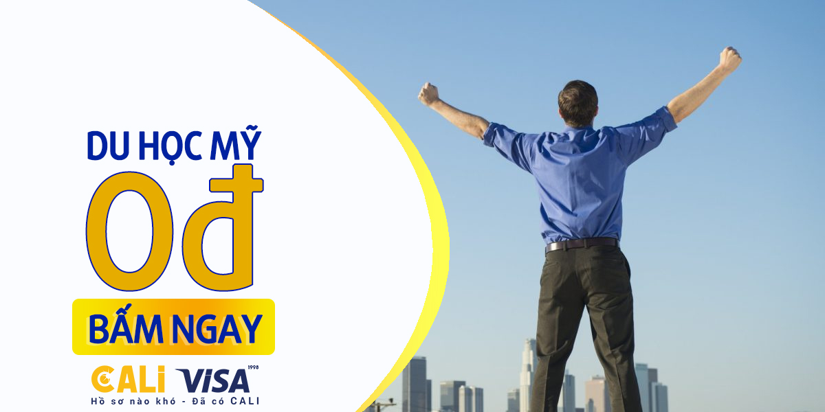 Du học dễ dàng với Cali Visa